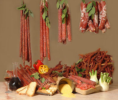 Salame e Coppiette